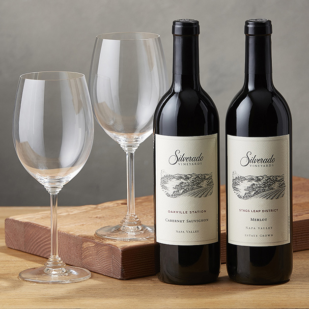 Cabernet & Merlot Gift Set with Riedel Glassware