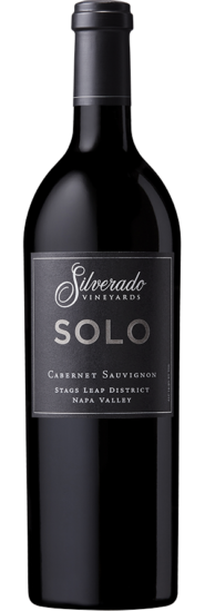 Silverado Vineyards NV SOLO Cabernet Sauvignon  Bottle Shot 72 dpi